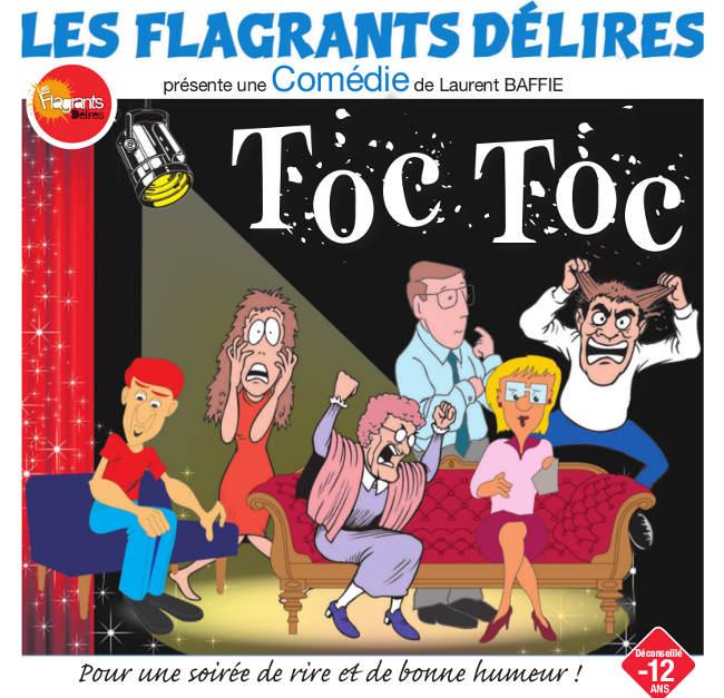 Toc Toc, comédie Laurent Baffie