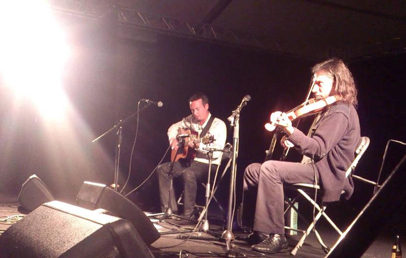 Musique irlandaise avec le duo Cadet - Penard