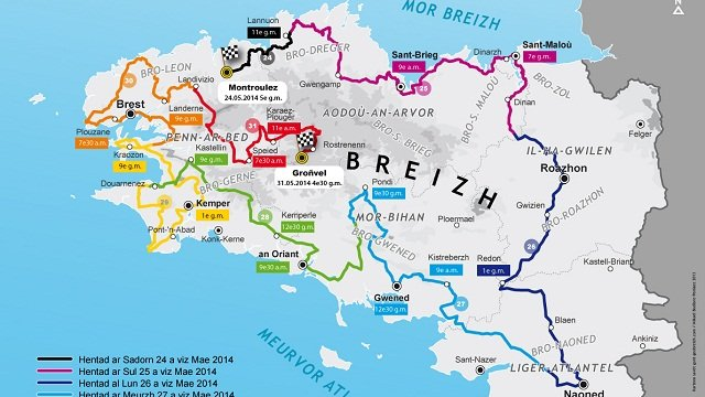 Redadeg : course de relais à travers la Bretagne